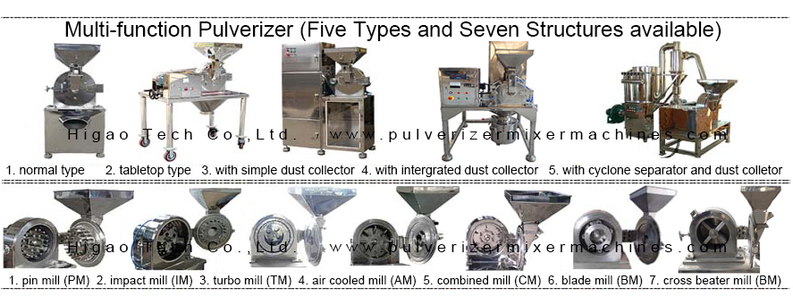sugar crushing pulverizer machine