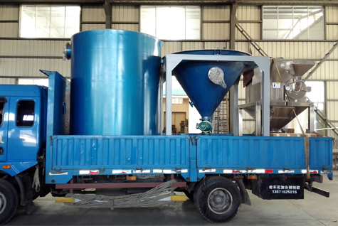 bulk solid conveying system