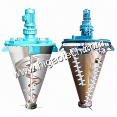 double screw conical mixer machine